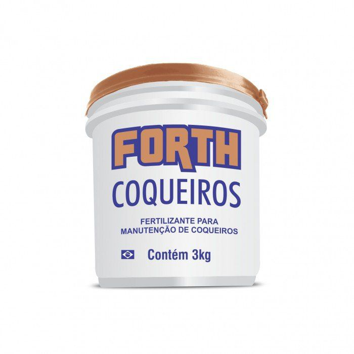Fertilizante Forth Coqueiros 3 Kg