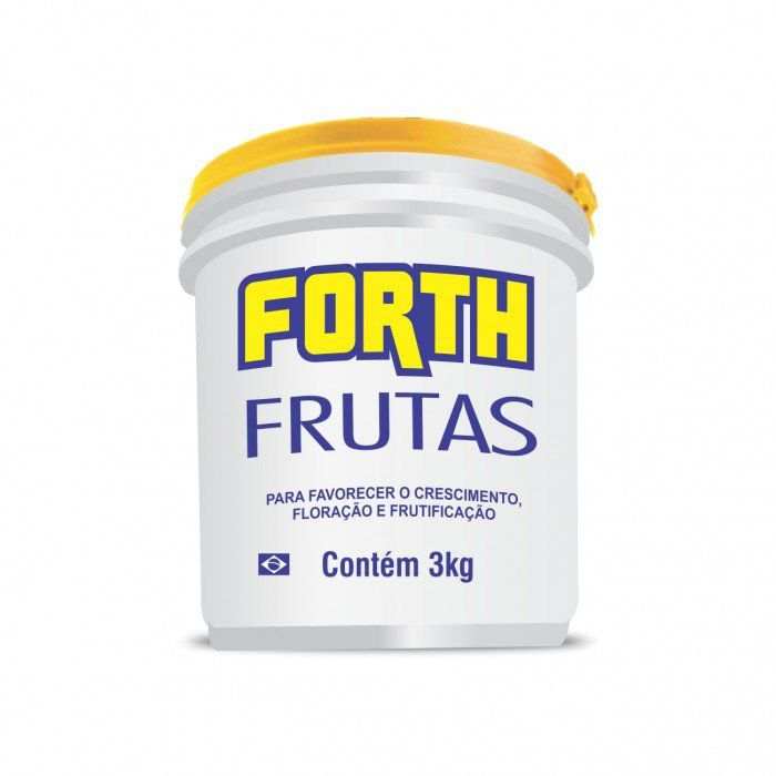 Fertilizante Forth Frutas 3 Kg