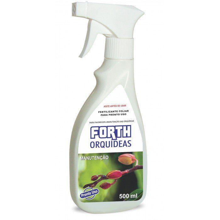 Fertilizante Forth Orquídeas Manutenção 500ml pronto para uso