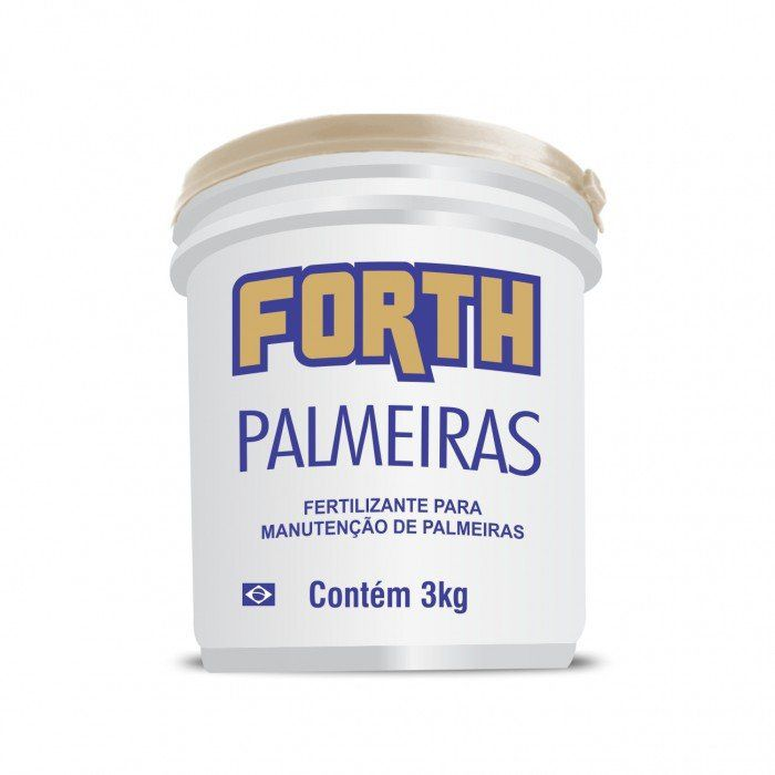 Fertilizante Forth Palmeiras 3 Kg