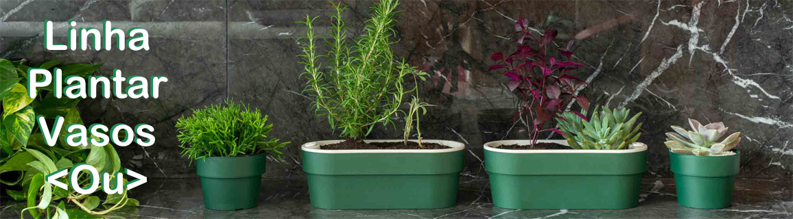 vasos autoirrigaveis linha plantar