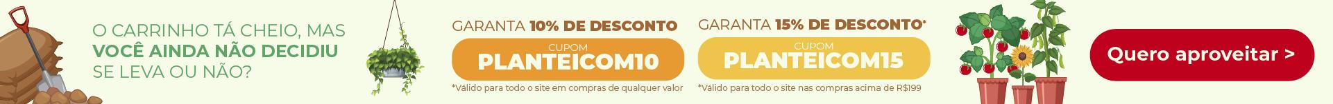 USE UM CUPOM DE DESCONTO