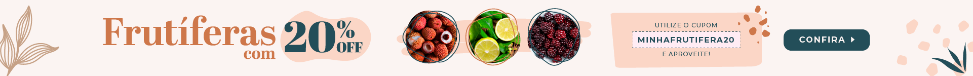 cupom para mudas frutiferas