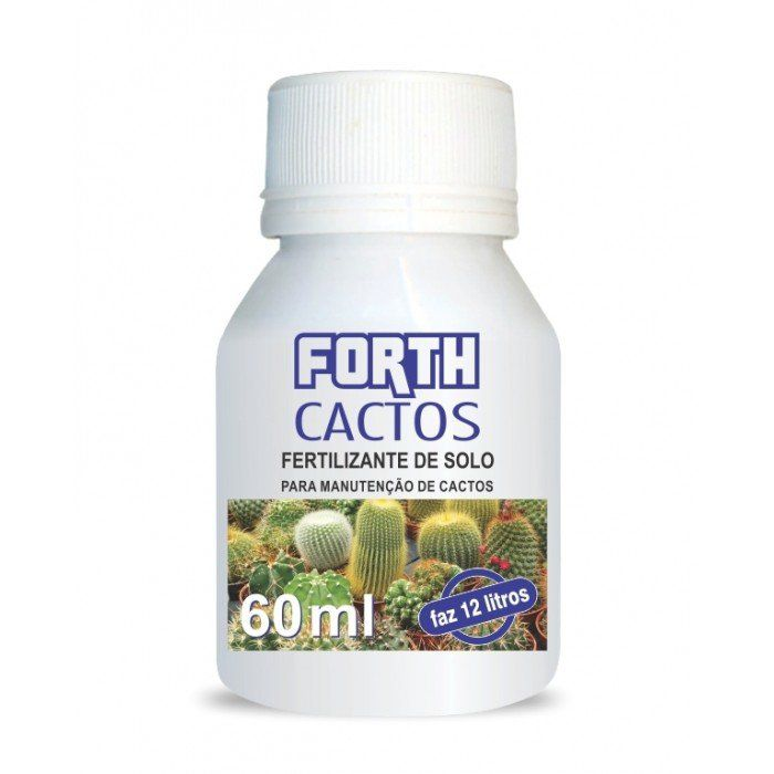 Fertilizante Forth Cactos 60ml concentrado