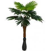 Árvore artificial Palmeira Leque Real Toque X12 Verde 1,2m - 33009001