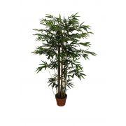 Árvore Bambu artificial com pote X1050 Verde 1,2 m - 29571001