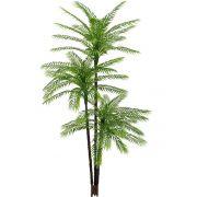 Árvore Palmeira artificial Verde PLT X48 1,55m - 31499001