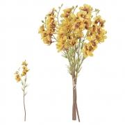 Buquê artificial Flor do Campo Ramalhete com Fita X6 cor Ferrugem 35cm - 37201009