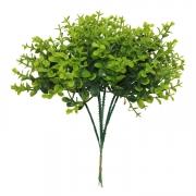 Buxinho Artificial Mini X6 Verde 23cm