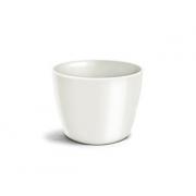 Cachepô Elegance Redondo 01 Branco - 9,0 altura x 11,0 largura