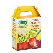 Fertilizante Mineral Misto Fosfato Moído + Farinha de Osso 1kg - Dimy