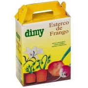 Fertilizante Orgânico Esterco de Frango 1 kg Dimy