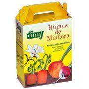 Fertilizante Orgânico Húmus de Minhoca 1 kg Dimy