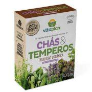 Fertilizante Orgânico Simples Classe A para Chás e Temperos 500g Vitaplan