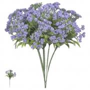 Folhagem artificial Pick Grass com Powder PLT X5 Lavanda 23cm - 42614001