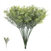 Folhagem artificial Pick Grass com Powder X5 Verde 21cm - 28216001