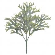 Folhagem Chifre de Veado artificial PLT X25 Verde 35cm - 39488002
