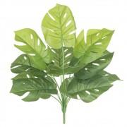Folhagem Costela de Adão Artificial Real Toque X12 Verde 42cm - 41568004