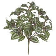 Folhagem Lambari Artificial Verde com Púrpura 37cm - 41558001