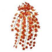 Folhagem pendente artificial Maple 99cm