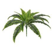 Folhagem Samambaia artificial X18 Verde 50cm - 24570001