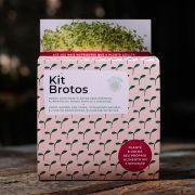Kit Brotos Microverdes Agrião e Mostarda