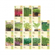 Kit com 13 envelopes de sementes para plantio dos Microverdes - Isla Multi