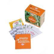 Kit de Sementes - Planta de Casa Faz Milagres (Manjerona, Endro e Sálvia) Isla
