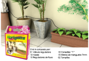 Kit para irrigação por gotejamento Hortgotta - Acqua Vitta Floral