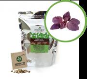 Kit para Plantio de Manjericão Alfavaca Basilicão Rubi Green Leaf