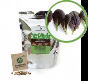 Kit para Plantio de Mostarda Roxa Osaka Green Leaf