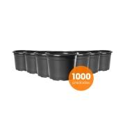 Kit Vaso de Planta Holambra NP 13 Preto - 1000 unidades