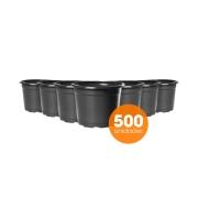 Kit Vaso de Planta Holambra NP 13 Preto - 500 unidades