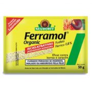 Lesmicida Ferramol Organic pacote com 50g