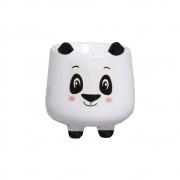 Mini Vaso de Cerâmica para Suculentas Panda Branco 10cm x 9,5cm - 6216