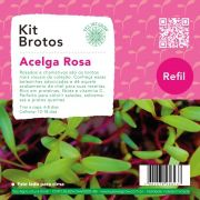Refil para Kit Brotos Acelga Rosa