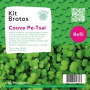 Refil para Kit Brotos Couve Pe-Tsai