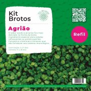 Refil para Kit Brotos Agrião
