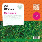 Refil para Kit Brotos Cenoura