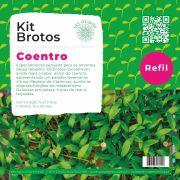 Refil para Kit Brotos Microverdes Coentro