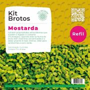 Refil para Kit Brotos Mostarda