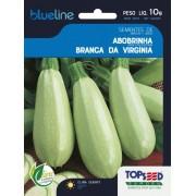 Sementes de Abobrinha Branca da Virgínia 10g - Topseed Blue Line