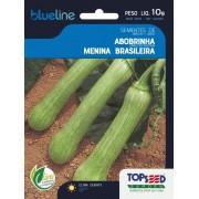 Sementes de Abobrinha Menina Brasileira 10g - Topseed Blue Line