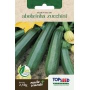 Sementes de Abobrinha Zucchini 2,5g - Topseed Linha Tradicional