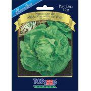 Sementes de Alface Maravilha de Verão (Manteiga) 10g - Topseed Blue Line