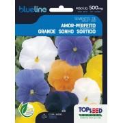 Sementes de Amor Perfeito Grande Sonho Sortido 500mg - Topseed Blue Line