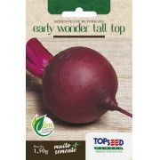 Sementes de Beterraba Early Wonder Tall Top 1,5g - Topseed Linha Tradicional