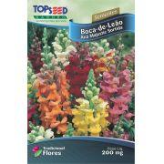 Sementes de Boca-de-Leão Anã Majestic Sortida 200mg - Topseed Linha Tradicional Flores