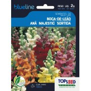 Sementes de Boca de Leão Anã Majestic Sortida 2g - Topseed Blue Line