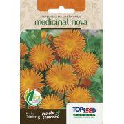 Sementes de Calêndula Medicinal Nova 200mg - Topseed Linha Tradicional